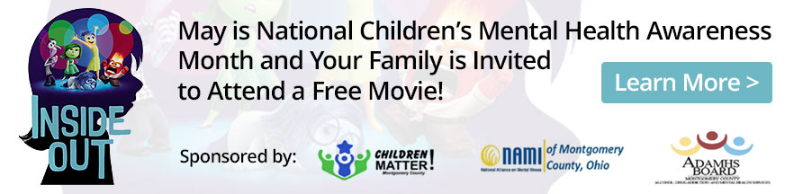 May is National Children's Mental Health Awareness Month